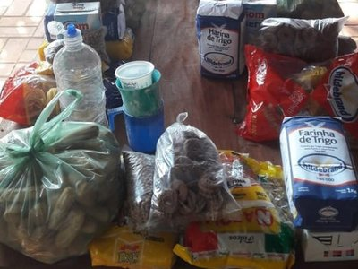 Recolectan alimentos para sectores vulnerables de Quiindy y Acahay