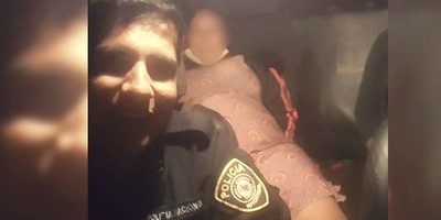 POLICÍAS ASISTIERON A PARTURIENTA HASTA EL HOSPITAL.