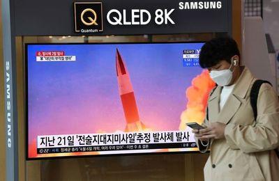 """Corea del Norte dispara un """"proyectil no identificado"""""""