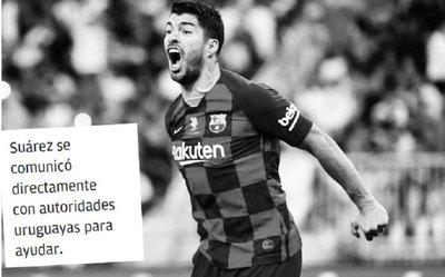 Luis Suárez metió un golazo solidario