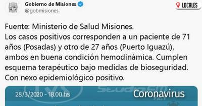 Coronavirus: confirmaron el segundo caso en Misiones y activa la alarma en Itapúa