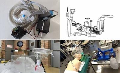 HOY / COVID-19: en busca del primer ambú automatizado 'made in Paraguay'