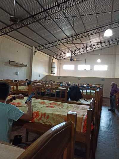 Grupo 172 repatriados cumplen cuarentena en divididos en tres grupos