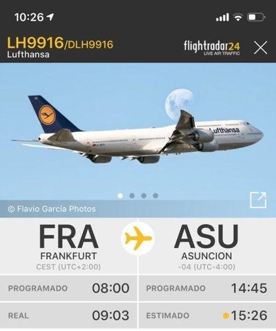 Alemania envió un avión para repatriar a sus connacionales