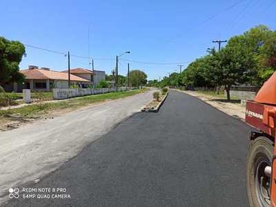 Vallemí: Concluyó asfaltado en doble avenida