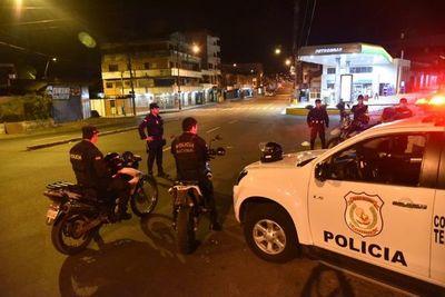 Policía refuerza patrulla en zona del Mercado 4 por rumor de supuestos saqueos a supermercados