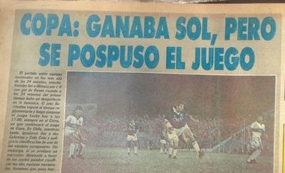 HOY / Olimpia, Sol y el polémico apagón de la Libertadores del 89