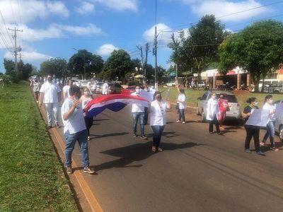 Enfermeros protestan ante falta de equipos de protección
