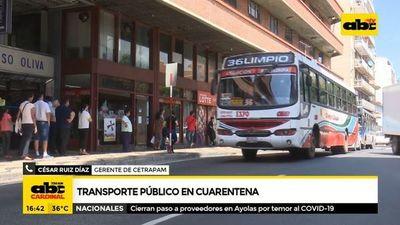 """Viceministro de Transporte: """"me sobrepasó la cantidad de gente en las calles"""""""