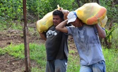 Más de 5 mil kits de alimentos entregados en 9 barrios de CDE