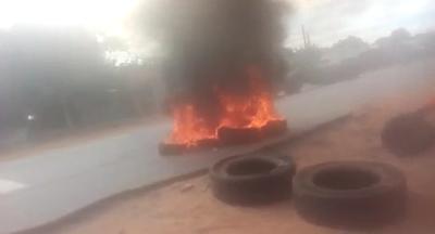 Incidentes en manifestación por falta de comida en Ypané