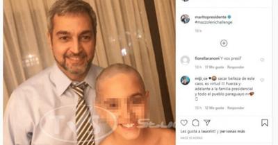El hijo de Marito se peló igual que el ministro de Salud