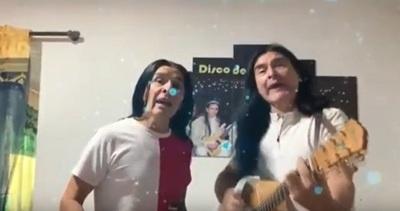 """Músicos """"populares"""" también grabaron un tema para alentar a los paraguayos"""