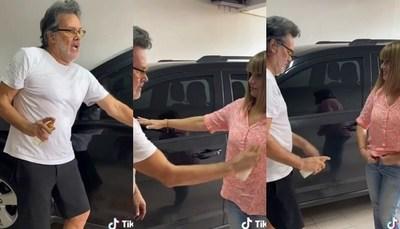 El imperdible vídeo de Pelusa Rubín y Emilio Garcia