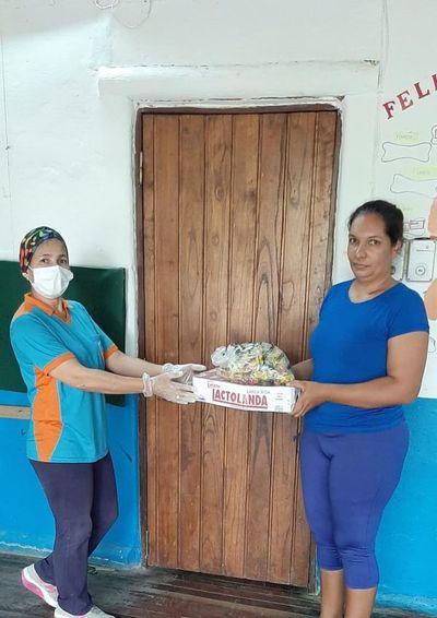 Realizan distribución de merienda escolar en Alto Paraguay y se aguarda los kits de alimentos