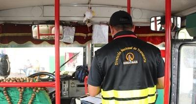 Dinatran suspende servicio de transporte público en Semana Santa