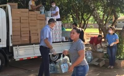 Gobernación también distribuye kits de desayunos y almuerzos