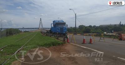 Coronavirus: Fiscalía toma intervención en intento de cruce de camión de cargas por el puente San Roque González de Santacruz