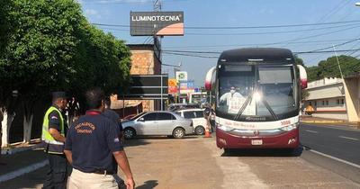 Dinatran suspende servicio de buses en Semana Santa