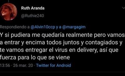 """Abogada imputada por amenazar con """"delivery"""" de Covid-19"""