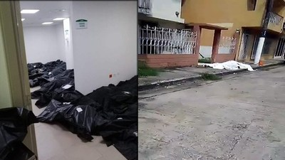 """Terror del coronavirus en Ecuador: """"¡No cejemos hasta que el último fallecido haya sido enterrado en el camposanto!"""""""