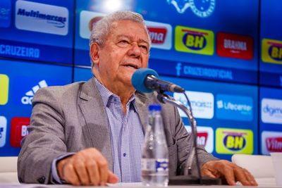 El presidente del Cruzeiro, contagiado con coronavirus
