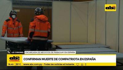Covid-19: Confirman muerte de compatriota en España
