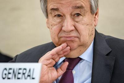 Jefe de ONU cree que pandemia de COVID-19 es la peor crisis mundial desde 1945