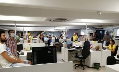 HOY / Diario ABC no respeta medidas de seguridad e higiene, y expone a periodistas: Sindicato denuncia