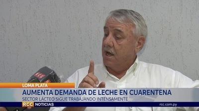 INESPERADO REPUNTE DEL SECTOR LÁCTEO EN ÉPOCA DE CUARENTENA EN EL CHACO