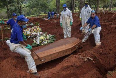 Brasil llega a 201 muertos y 5.717 casos confirmados de COVID-19