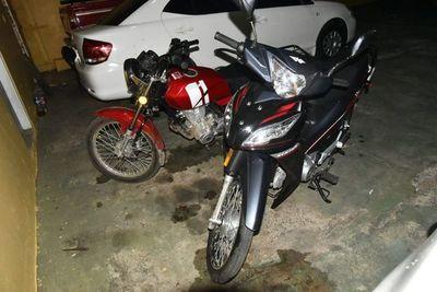 Recuperan motocicleta robada y detienen a presuntos autores gracias a GPS