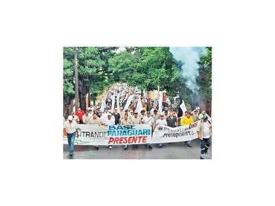 Sindicatos de Yacyretá y Sitrande, en contra de las reducciones salariales