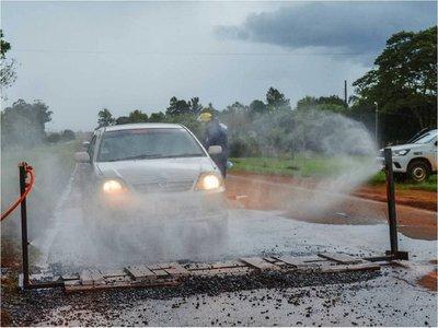 Desarrollan en Itapúa eficaz sistema para desinfecciones