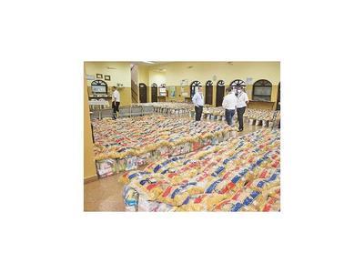 La Aduana de Encarnación hace entrega de kits de ayuda