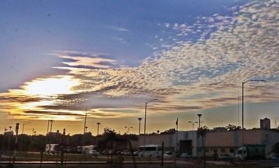 Meteorología anuncia una jornada calurosa con probabilidad de chaparrones