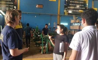 Intervienen empresa de transformadores por incumplimiento sanitario