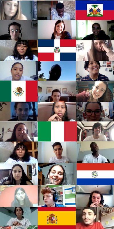 Primer ciberencuentro mundial de jóvenes sobre COVID-19