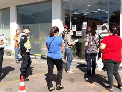 En Luque ya detuvieron a 35 personas por violar la cuarentena •