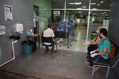 Clínica Campo vía de IPS, sin cuadros respiratorios graves