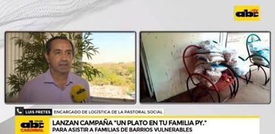 """Lanzan campaña """"Un plato en tu familia Paraguay"""""""