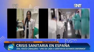 Doctora paraguaya contrajo Covid-19 en España