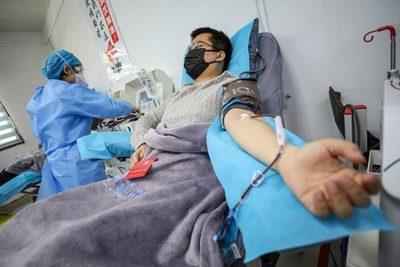 Propondrán uso de plasma sanguíneo para tratar casos de Covid-19