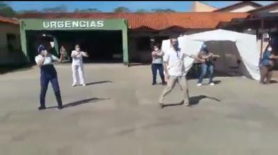 HOY / En Pilar, los médicos crean consciencia a través del baile