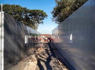 Covid-19: Rápida construcción de los dos hospitales de contingencia