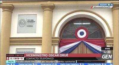 HOY / Óscar Orué, Viceministro de Tributación, señaló que la idea es que después del 12 se puedan hacer los pagos