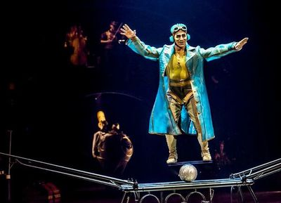 Los shows del Cirque du Soleil en internet