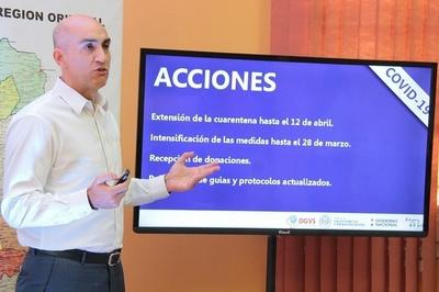 Ocho nuevos casos de coronavirus en Paraguay