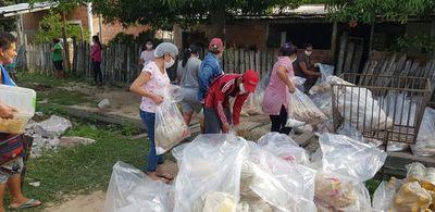 Entregan 1.600 kits de víveres a familias en el Alto Paraguay