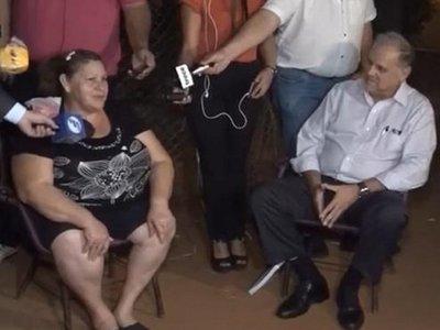 Ñangareko: Conferencia de la SEN en casa de beneficiaria genera controversia
